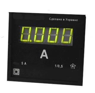 Цифровой щитовой амперметр ЦА0204