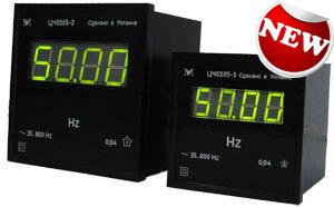 Цифровой щитовой частотомер ЦЧ0205