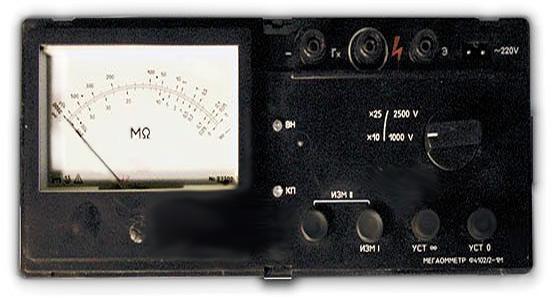 Мегометр Ф4102