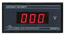 Цифровой щитовой вольтметр Ш4562