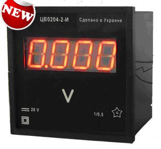 Цифровой щитовой вольтметр ЦВ0204