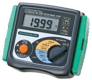 Измеритель сопротивления фаза-ноль и тока короткого замыкания KEW 4120A