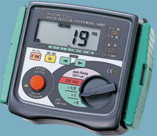 Цифровой измеритель параметров УЗО - KEW 5406A